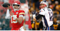 Memes, Tom Brady, and Brady: Tom Brady vs. @PatrickMahomes5. Round Two.   Advantage goes to [https://t.co/PjdGbxbkSi]. (via @AdamSchein) https://t.co/kGwFdq2LVA