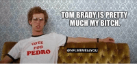 Be Like, Nick, and Nick Foles: TOM BRADYIS PRETTY  WOTE  FOR  PEDRO  @NFLMEMES4YOU Nick Foles be like... https://t.co/WE05AHdJHM