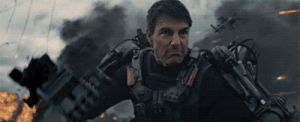 Tom Cruise, Cruise, and Area 51: Tom Cruise Fighting at Area 51