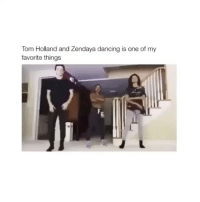 I LOVE THEM follow @hotpeoplefeed for more!: Tom Holland and Zendaya dancing is one of my  favorite things I LOVE THEM follow @hotpeoplefeed for more!