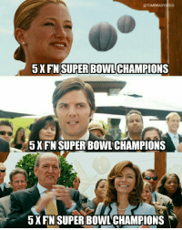Patriotic, Super Bowl, and Tom Brady: @TOMBRADYSEGO  5XFN  SUPER BOWL  CHAMPIONS  5XFN SUPER BOWL CHAMPIONS  5XFN SUPER BOWL CHAMPIONS Patriots fans watching banner #5 drop https://t.co/BndJGMcFkG