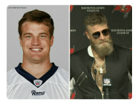 "Ryan Fitzpatrick, Tom Brady, and Home: @TOMBRADYSEGO  RAYMOND JAMES  STADIUM  MES  RAYMOND JAM  STADIUM  Pams Ryan Fitzpatrick went from ""I'll have her home by 9!"" to ""Even your wife calls me daddy"" https://t.co/EUhmWOqkTx"