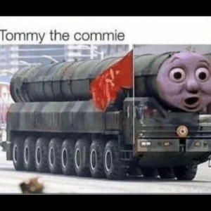 Dank, Engine, and Tommy: Tommy the commie Dank engine.
