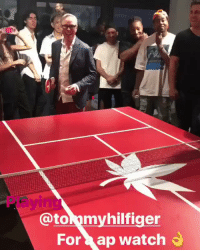 French Montana, Montana, and Watch: @tommyhilfiger  For ap watch French Montana playing ping pong against Tommy Hilfiger for an Audemars Piguet watch! 🏓😳 @FrenchMontana https://t.co/W3TKscdT97