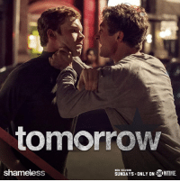 Is Lip back to his old ways? Find out tomorrow on an all-new Shameless.: tomorrow  NEW SEASON  SHOWTME.  SUNDAYS ONLY ON  shameless Is Lip back to his old ways? Find out tomorrow on an all-new Shameless.