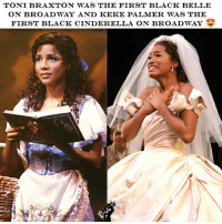 Repost from @_black_business Both this Queens are so beautiful! I honestly believe they're best Belle and Cinderella! Do you agree? black blackpower blackwomen blackgirl blackhistorymonth blackmen blackgirls blackwoman blackmagic blackman blackqueen blackowned blackbusiness blackpride: TONI BRAXTON WAS THE FIRST BLACK BELLE  ON BROADWAY AND KEKE PALMER WAS THE  FIRST BLACK CINDERELLA ON BROADWAY Repost from @_black_business Both this Queens are so beautiful! I honestly believe they're best Belle and Cinderella! Do you agree? black blackpower blackwomen blackgirl blackhistorymonth blackmen blackgirls blackwoman blackmagic blackman blackqueen blackowned blackbusiness blackpride