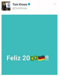 Memes, Toni Kroos, and 🤖: Toni Kroos  Toni Kroos  Feliz 20 Toni Kroos just won New Year's eve 😂