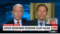 The senator who disclosed Supreme Court nominee Neil Gorsuch's apparent criticism of President Donald J. Trump is now calling for Gorsuch to go public with his misgivings. http://cnn.it/2ky43oC: TONIGHT AT 10P ET  THE HISTORY OF  COMEDY  1 0454  BREAKING NEWS  JUSTICE DEPARTMENT REVIEWING COURT RULING  CNN  8:55 PM ET  AC360° The senator who disclosed Supreme Court nominee Neil Gorsuch's apparent criticism of President Donald J. Trump is now calling for Gorsuch to go public with his misgivings. http://cnn.it/2ky43oC