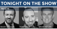 "Gif, Target, and Tumblr: TONIGHT ON THE SHOW   FRI 6/17  RICKY GERVAIS  TONY HALE  BRIAN REGAN <h2>Tonight, <a href=""http://www.nbc.com/the-tonight-show/guest/ricky-gervais/6566"" target=""_blank"">Ricky Gervais</a> returns to Studio 6B!  </h2><figure data-orig-width=""450"" data-orig-height=""224"" class=""tmblr-full""><img src=""https://78.media.tumblr.com/aff222504cdc809e12b91a3b7446aeab/tumblr_inline_o8xn6r5yPk1qgt12i_500.gif"" alt=""image"" data-orig-width=""450"" data-orig-height=""224""/></figure><h2><a href=""http://www.nbc.com/the-tonight-show/guest/tony-hale/272386"" target=""_blank"">Tony Hale</a> is also stopping by! <a href=""http://giphy.com/gifs/veep-l0K4a7YcZ5Y7iM5zO"" target=""_blank"">(via)</a><br/></h2><figure data-orig-width=""330"" data-orig-height=""367"" class=""tmblr-full""><img src=""https://78.media.tumblr.com/5a6e1137ce5bb268982bf79ed8f8cfbe/tumblr_inline_o8xrvoIFtS1qgt12i_540.png"" alt=""image"" data-orig-width=""330"" data-orig-height=""367""/></figure><h2>Plus, stand-up from <a href=""http://www.nbc.com/the-tonight-show/guest/brian-regan/199591"" target=""_blank"">Brian Regan</a>!</h2><figure class=""tmblr-embed tmblr-full"" data-provider=""youtube"" data-orig-width=""540"" data-orig-height=""304"" data-url=""https%3A%2F%2Fwww.youtube.com%2Fwatch%3Fv%3DQYCy2_Tv1Gs""><iframe width=""540"" height=""304"" id=""youtube_iframe"" src=""https://www.youtube.com/embed/QYCy2_Tv1Gs?feature=oembed&enablejsapi=1&origin=https://safe.txmblr.com&wmode=opaque"" frameborder=""0"" allowfullscreen=""""></iframe></figure>"