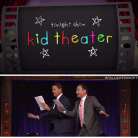 "Target, youtube.com, and Channing Tatum: tonight show  id theater   FALLONTONIGHT <p><a href=""https://www.youtube.com/watch?v=az5qOjhsang&amp;index=17&amp;list=UU8-Th83bH_thdKZDJCrn88g"" target=""_blank"">Channing Tatum and Jimmy had a great time pretending to fly in Kid Theater!</a></p>"