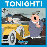 What's greater than Gatsby? Peter Griffin. See you tonight at 9/8c!: TONIGHT!  SUNDAYS  FOX  ANYTIME  FOXNOW What's greater than Gatsby? Peter Griffin. See you tonight at 9/8c!