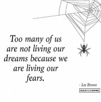 Before you can begin overcoming fear, you have to be aware that your fears are causing havoc in your life. It's easy to get so attached to your thoughts and feelings that you think they are all that exist, which couldn't be further from the truth. You are not your fears. Don't create your own mental jail and be content to live in it. awareness nofear letsgo 👌🏼 @buildyourempire: Too many of us  are not living our  dreams because we  are living our  fears.  Les Brown  BUILD YOUR EMPIRE Before you can begin overcoming fear, you have to be aware that your fears are causing havoc in your life. It's easy to get so attached to your thoughts and feelings that you think they are all that exist, which couldn't be further from the truth. You are not your fears. Don't create your own mental jail and be content to live in it. awareness nofear letsgo 👌🏼 @buildyourempire