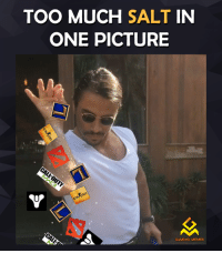 me me me video: TOO MUCH  SALT  IN  ONE PICTURE  GAMING MEMES