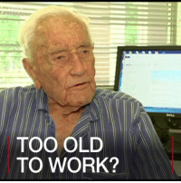22 DEC: They say you're only as old as you feel. Well, one academic in Australia has just won an age discrimination battle, allowing him to keep going to his place of work at the age of 102. Professor David Goodall was told he was a health and safety risk by his employer in Perth. Find out more: bit.ly-oldscientist SupportDrGoodall DrDavidGoodall ecology Ecu edithcowanuniversity perth ageism equality dedication inspiration science DavidGoodall scientist australia BBCShorts BBCNews @BBCNews: TOO OLD  TO WORK? 22 DEC: They say you're only as old as you feel. Well, one academic in Australia has just won an age discrimination battle, allowing him to keep going to his place of work at the age of 102. Professor David Goodall was told he was a health and safety risk by his employer in Perth. Find out more: bit.ly-oldscientist SupportDrGoodall DrDavidGoodall ecology Ecu edithcowanuniversity perth ageism equality dedication inspiration science DavidGoodall scientist australia BBCShorts BBCNews @BBCNews