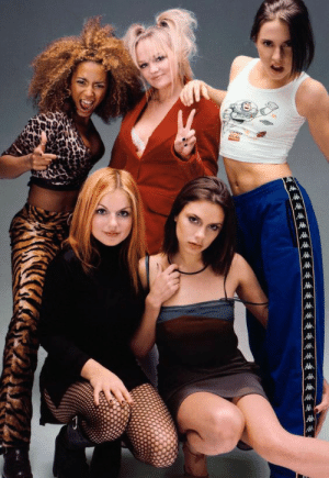 Girls, Shit, and Target: tooiconic:  klubbhead:   jooshbag:  klubbhead:   jooshbag:  stylinglikeitsthe90s: Spice Girls  Sporty and Ginger are my whole shit.     This is objectively awful. This is grotesque.   You're welcome   Reblog this to die instantly.