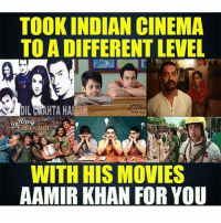 Mr. perfectionist for a reason 👌🏻 Double Tap for Dedication 🙌🏻 Puts in all his efforts to make a Fabulous film 👍🏻: TOOK INDIAN CINEMA  TO A DIFFERENT LEVEL  WITH HIS MOVIES  AAMIR KHAN FOR YOU Mr. perfectionist for a reason 👌🏻 Double Tap for Dedication 🙌🏻 Puts in all his efforts to make a Fabulous film 👍🏻