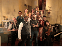 Took the missus for a lighthearted evening romp downtown w Sweeney Todd, Mrs. Lovett & this incredible band cast & crew https://t.co/BnfejzIBk8: Took the missus for a lighthearted evening romp downtown w Sweeney Todd, Mrs. Lovett & this incredible band cast & crew https://t.co/BnfejzIBk8