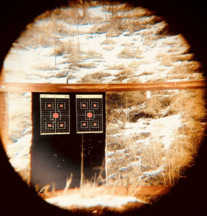 Took this while at the shooting range: Took this while at the shooting range