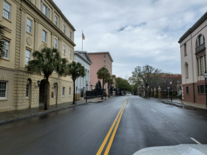 Took this working Downtown Charleston, SC . Ghost town.: Took this working Downtown Charleston, SC . Ghost town.