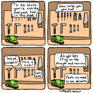 Tools of the Trade [OC]: Tools of the Trade [OC]