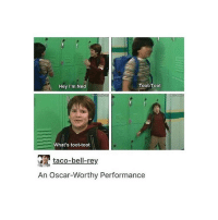 Memes, Rey, and Taco Bell: Toot-Toot  Hey I'm Ned  What's toot-toot  taco-bell-rey  An Oscar-Worthy Performance this show was my shit (and then middle school disappointed me)