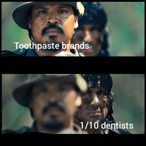 Old, Looking, and Via: Toothpaste brands  1/10 dentists Looking for ROI on old toothpaste tubes via /r/MemeEconomy https://ift.tt/2MFvaLE