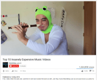 smoooby: Top 10 Insanely Expensive Music Videos  WatchMojo.com M  mojo  C Subscribe  11,940,883  1,364,898 views  10,506  738  Add to  Share  More  Published on 14 May 2016  First, video killed the radio start, and then it went and robbed the bank as well. Join http://www.WatchMojo.com as we count down our picks for smoooby