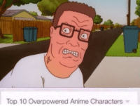 -Gentlemanbird: Top 10 overpowered Anime Characters -Gentlemanbird