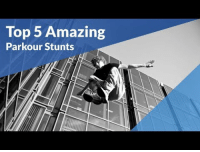 Tumblr, Blog, and Http: Top 5 Amazing  Parkour Stunts iglovequotes:Amazing Parkour stunts