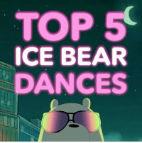 5.) My Clique 4.) Viral Video 3.) Cupcake Job 2.) Everyone's Tube 1.) Find out August 7th in a new baby bear episode! ❄️ nationaldanceday webarebears: TOP 5  ICE BEAR  DANCES 5.) My Clique 4.) Viral Video 3.) Cupcake Job 2.) Everyone's Tube 1.) Find out August 7th in a new baby bear episode! ❄️ nationaldanceday webarebears