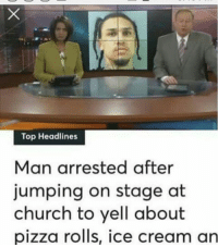 Free the bro @doit4_doo He was just looking for his son Chris 😩🤦♂️ @worldstar WSHH: Top Headlines  Man arrested after  jumping on stage at  church to yell about  pizza rolis, ice cream an Free the bro @doit4_doo He was just looking for his son Chris 😩🤦♂️ @worldstar WSHH