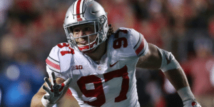 Memes, Nick, and 🤖: Top @NFLDraft prospect Nick Bosa set to participate in all #NFLCombine drills: https://t.co/QkgaL5XCeV (via @RapSheet) https://t.co/wdpzf5uTDJ