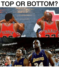 Which duo would you rather have? @hoopsnation for more. Tags: NBA Bulls Lakers: TOP OR BOTTOM?  IPPEN  @hoopsnation Which duo would you rather have? @hoopsnation for more. Tags: NBA Bulls Lakers
