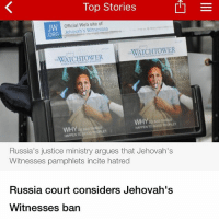 Top Stories Official Web Site of JW Jehovah's Witnesses ORG