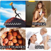 Memes, Say It, and 🤖: TOPANGA  BAG OF PEACHES Say it out loud!