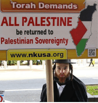 Memes, Israeli, and 🤖: Torah Demands  ALL PALESTINE  be returned to  Palestinian Sovereignty  www.nakusa.org  ES!  NO! Occupying Palestinians land is also illegal by Torah Real Jews are against #Zionist occupier Israelis!  I do support Palestine