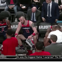 "John Wall: ""My grandfather is a better center than you.""  Marcin Gortat: ""(something in Polish about Wall's mom)""  Bradley Beal: ""Please just sweep us already and let me go home."" https://t.co/S5ZlVYIoKP: TORIES  m was the biggest Game 1 surprise? The Sta John Wall: ""My grandfather is a better center than you.""  Marcin Gortat: ""(something in Polish about Wall's mom)""  Bradley Beal: ""Please just sweep us already and let me go home."" https://t.co/S5ZlVYIoKP"