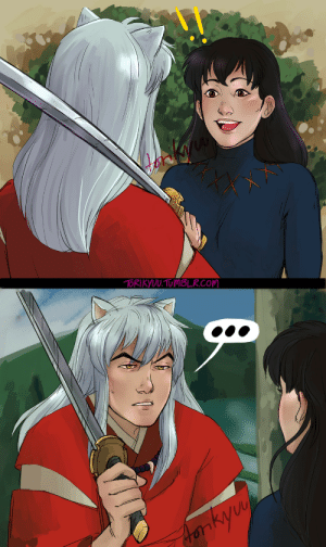 "torington: ""What is this bitch going on about?"" - by ToriKyuu Rewatching Inuyasha and I decided to do some screenscap redraw's, kind of rushed this a bit near the end but oh well. : torington: ""What is this bitch going on about?"" - by ToriKyuu Rewatching Inuyasha and I decided to do some screenscap redraw's, kind of rushed this a bit near the end but oh well."