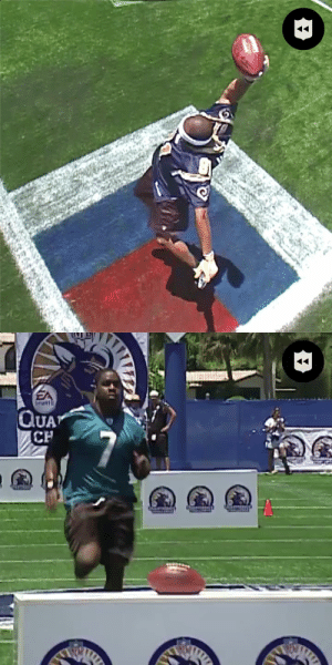 Torry Holt just showing off at the 2005 QB Challenge. @BigGame81 (via @nflthrowback) https://t.co/C4jlAL3P1y: Torry Holt just showing off at the 2005 QB Challenge. @BigGame81 (via @nflthrowback) https://t.co/C4jlAL3P1y