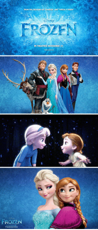 It's been one year since the official release of Disney's Frozen! ❄⛄🙌 Frozen1stAnniversary: TORS OF TANGLED AND WRECK m RALPH,  FROM THE  SNE  ROZEN  IN THEATRES NOVEMBER 27   FROZEN  THANKSGIVING It's been one year since the official release of Disney's Frozen! ❄⛄🙌 Frozen1stAnniversary