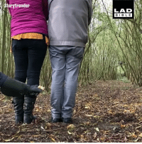 Memes, 🤖, and Agile: torytrender  LAD  BIBL E This seriously agile owl surprised this couple when it flew between them - stood just a foot apart 😮🦉
