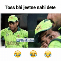 Memes, India, and Bowl: Toss bhijeetne nahi dete  fb /Bunkistan India won the toss & elected to bowl first...😍