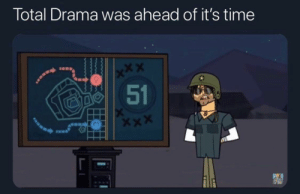 It really was: Total Drama was ahead of it's time  x*X  51 It really was