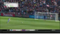 Former Everton and Man Utd keeper Tim Howard the hero... here is his save that won it for Colorado: Total  Penalty kicks  NFL  S Lions  22 Vikings  6 FIOT Former Everton and Man Utd keeper Tim Howard the hero... here is his save that won it for Colorado
