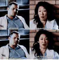 Head, Memes, and 🤖: totally gre  02  MMy head hurts  You wish I had a tumo  Maybe it's a tumor  Look, I'd rip your ace  Grubin.  it meant I got to alex or cristina???? — @boldlygreys - - - greysanatomy greysabc
