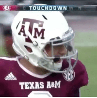 Memes, Texas, and Texas A&m: TOUCHDOWN  W  ANM  TEXAS A&M Threw a pick six and got juked 😂 - (FOLLOW @dankrushes FOR A CHANCE TO WIN A SHOUTOUT🔥) - doubletap