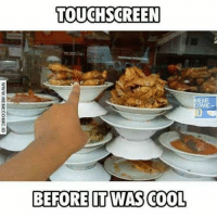 Awal mula teknologi touch screen :v: TOUCHSCREEN  MEME  OMIC  BEFORE TWAS COOL Awal mula teknologi touch screen :v