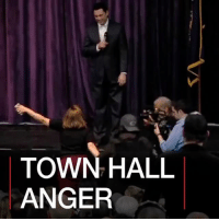 Memes, Protest, and Presidents: TOWN HALL  ANGER 23 FEB: Republican politicians are returning to their home districts to a barrage of criticism, as many constituents demand to know how they'll hold President Trump to account. Find out more: bbc.in-townhall TownHall Trump Republicans Democrats Congress Protest BBCShorts @BBCNews BBCNews