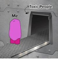 Memes, Relationships, and Animated: Toxic People  Me Bye!!! (By @boggs.rule) . . . toxicpeople newstart relationships boggs animated