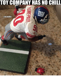 """""""Toys'R'Us introduces the new Jason Pierre-Paul action figure, featuring detachable hands and fingers!"""" LIKE NFL Memes!: TOY COMPANY HAS NO CHILL  ONFLMEMEZ """"Toys'R'Us introduces the new Jason Pierre-Paul action figure, featuring detachable hands and fingers!"""" LIKE NFL Memes!"""